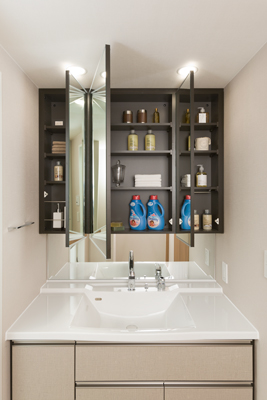 Creative BATHROOM CABINET FOR SMALL SPACE  BATHROOM CABINETS